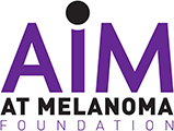 'AiM at Melanoma Foundation' logo