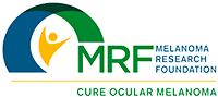 'Melanoma Research Foundations Cure OM Initiative' logo