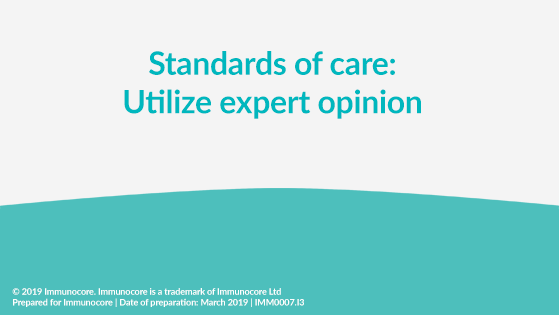 Standards of care video poster